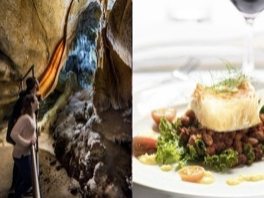 Don't wait for a special occasion! Enjoy an elegant dinner in historic Chisolm's Restaurant, built in 1926, and a fascinating tour of our Imperial Cave, as part of a small group.