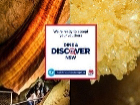Pay full price for 1 cave. Redeem a Dine & Discover voucher for a 2nd cave - no extra cost. Great for less-mobile walkers.
