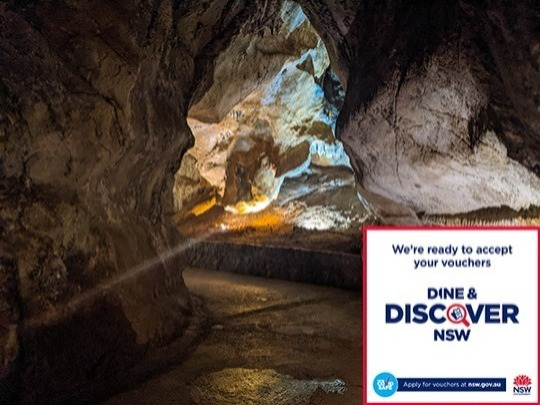 If you are a local, you can get an Imperial Cave tour for only $1 plus one Dine & DISCOVER voucher.