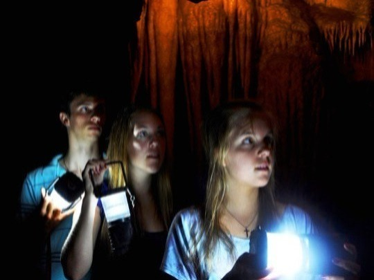 At night, roam the underworld by torchlight. Shiver to tales of unexplained experiences of visitors and staff, from the 1800s to today. Bring a friend to cling to. But it's not just 'ghost stories'. It includes mysteries from our history. 